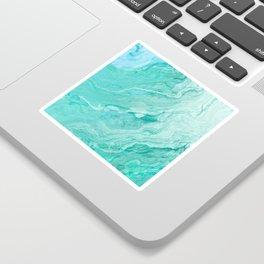 Azure marble Sticker