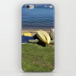 Dinghies on the Bay iPhone Skin