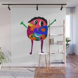 DooDoo Boy | Kids Painting by Elisavet Wall Mural