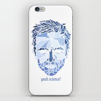 jesse pinkman iPhone & iPod Skins featuring Crystallized Morality - Jesse Pinkman by Tyler Schmidt