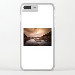 Mumbles pier and lifeboat station Clear iPhone Case