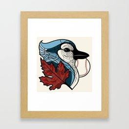 Blue Jays Go Team 1 Framed Art Print