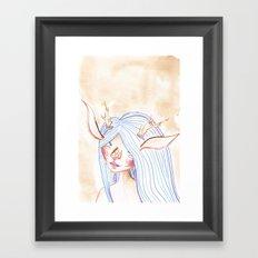 Faunish Framed Art Print