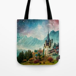 Faerytale Castle Tote Bag