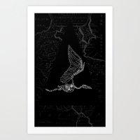 pterodactylus x-ray Art Print