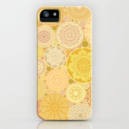 Henna bubbles iPhone Case