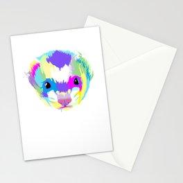 Splash Ferret  Stationery Cards
