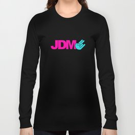 JDM shocker v6 HQvector Long Sleeve T-shirt