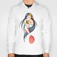 little mermaid Hoodies featuring Mermaid by Freeminds