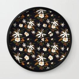 Vesper Bouquet Wall Clock