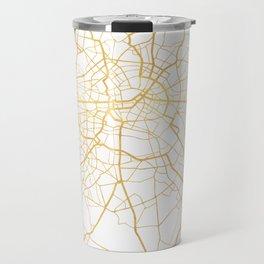 BERLIN GERMANY CITY STREET MAP ART Travel Mug
