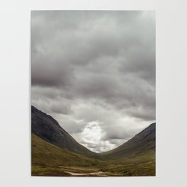 Scottish Valley Poster