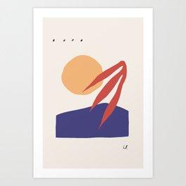 Abstract Print No. 4 Art Print