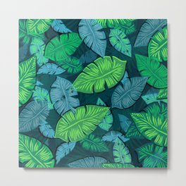 Lovely Leaves Metal Print