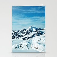 alaska Stationery Cards featuring Alaska by Elise Giordano