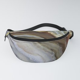 Natural agate #2017 Fanny Pack