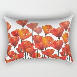 Poppies! Rectangular Pillow