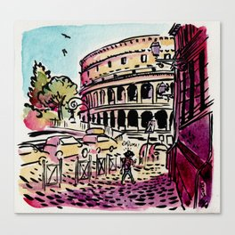 Ciao Mamma! - Colosseo, Roma Canvas Print