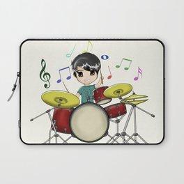 Chibi Drummer Laptop Sleeve