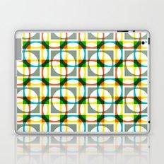 Colorful circle square pattern Laptop & iPad Skin