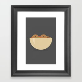 Tasty food like Falafel Framed Art Print