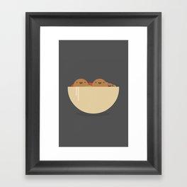 Tasty food like Falafel Framed Art Print