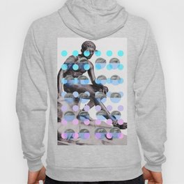 Statue With A Dot Gradient 2 Hoody
