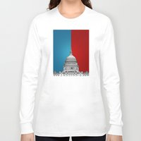 politics Long Sleeve T-shirts featuring American Politics by politics