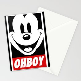Oh Boy! Stationery Cards