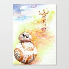 BB8 & C3PO Canvas Print