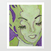 Mug Shot Green/Lares and Penates Series Art Print