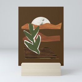 Desert Mountains Mini Art Print