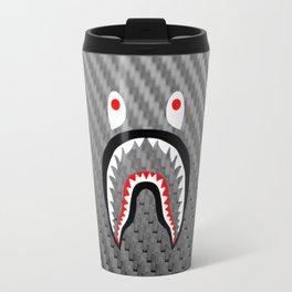 Frame carbon fiber bape shark Travel Mug