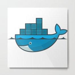 Docker Metal Print