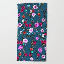 Spring Flowers Decò Beach Towel