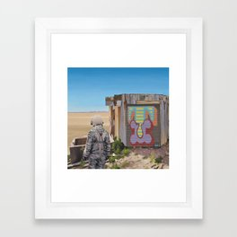 Mountaintop T Framed Art Print