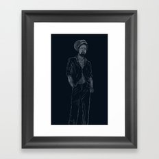 Gregory Isaacs Framed Art Print