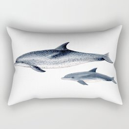 Atlantic spotted dolphin Rectangular Pillow