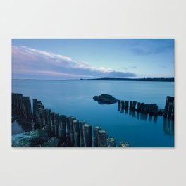 Weir Dawn, Wexford Town, View from Wildfowl Reserve Hun Canvas Print