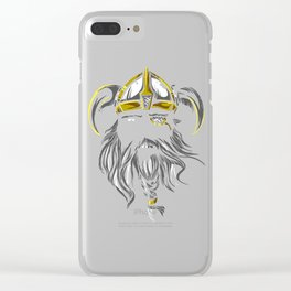 Viking Spirit Clear iPhone Case