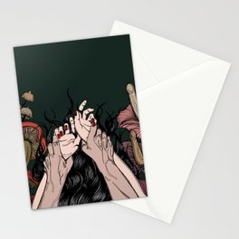 Jungle of the Sleeping Flames Stationery Cards