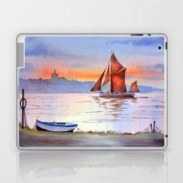 Thames Barge At Maldon England Laptop & iPad Skin
