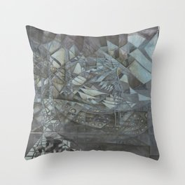 Listen in the Distance Throw Pillow