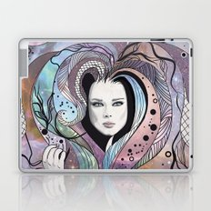 cosmic girl Laptop & iPad Skin