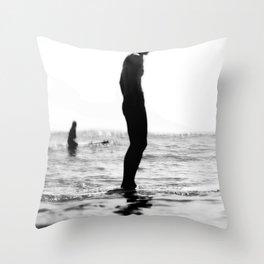 Water women Throw Pillow