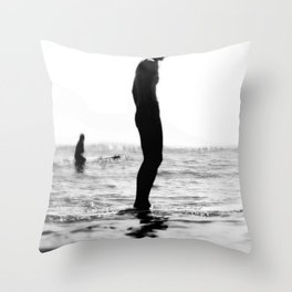 Water women Throw Pillow