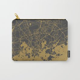 Helsinki map Carry-All Pouch