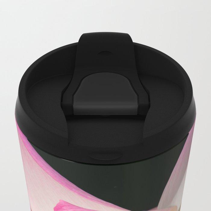 Flower Power Metal Travel Mug