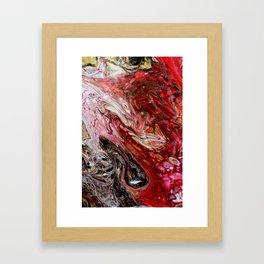 """Passion"" artwork by Inessa Laurel Framed Art Print"