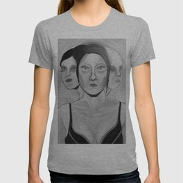 my incomplete faces T-shirt